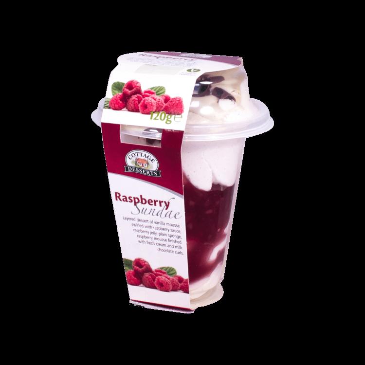 Raspberry Sundae 120g