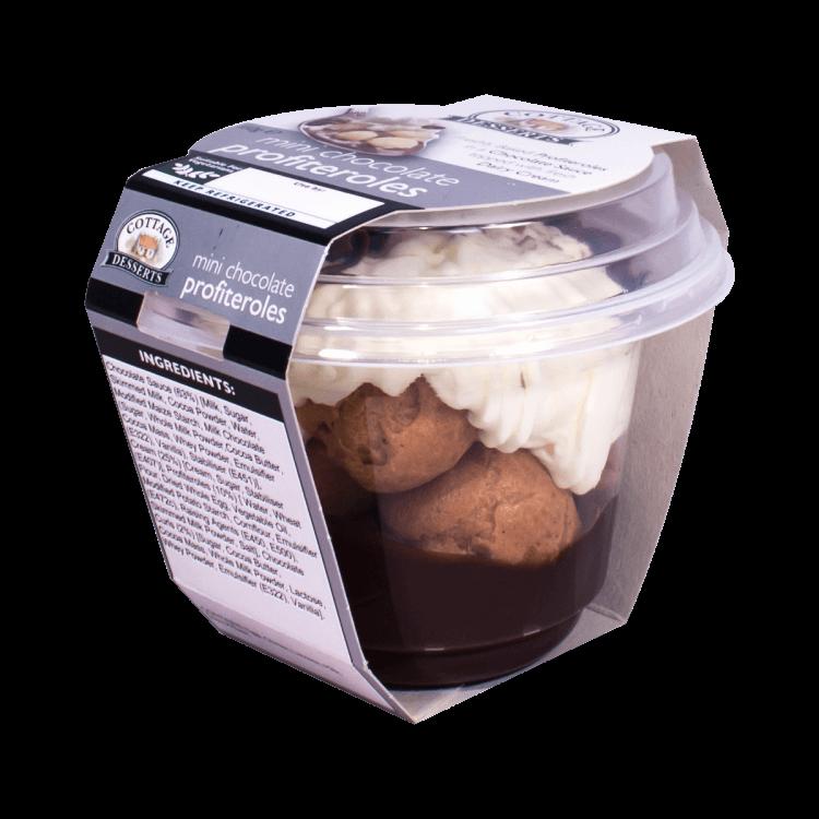 Mini Chocolate Profiteroles 110g