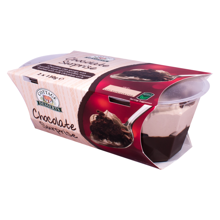 Chocolate Surprise 130g Twin Pack