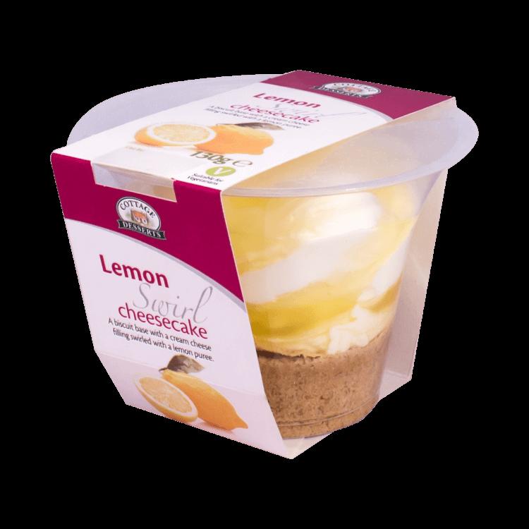Lemon Swirl Cheesecake 130g