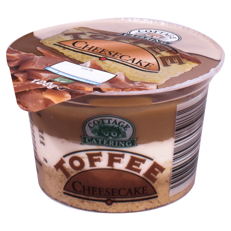 Toffee Cheesecake 100g